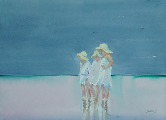 , 'Beach Scene VIII,' 1980-1990, Galerie Bettina