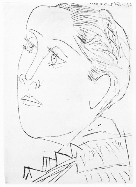 , 'Portrait de Dora Maar au Chignon. I,' 1936, John Szoke
