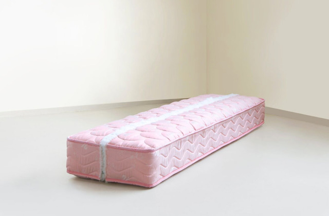 , 'Mendings (pink mattress),' 2012, Green Art Gallery