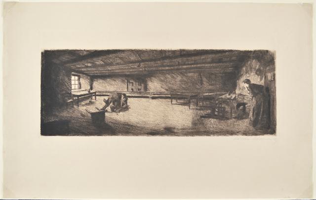 Käthe Kollwitz, 'Scene from Germinal', 1893, Galerie St. Etienne