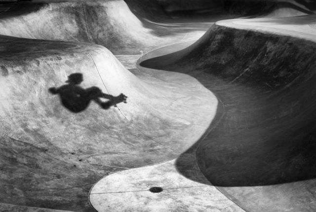 Dotan Saguy, 'Skateboarder Shadow', 2016, Fabrik Projects Gallery