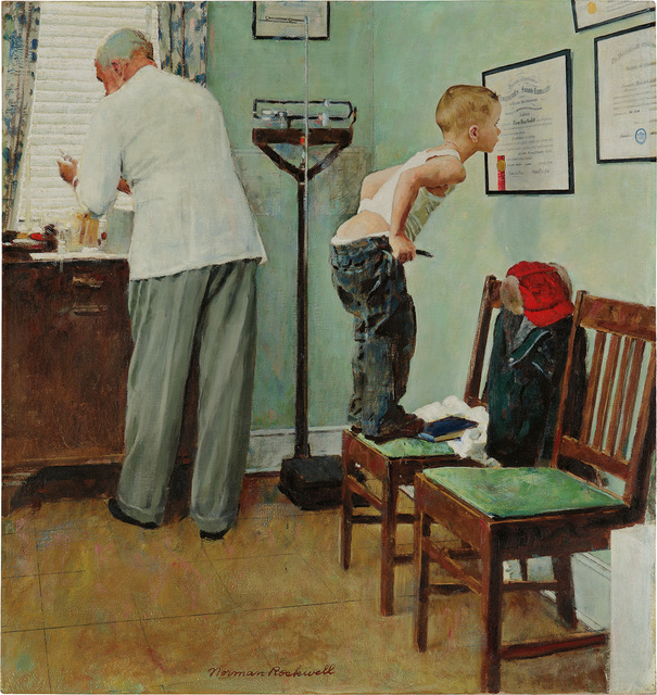 Norman Rockwell, 'Before the Shot', 1958, Phillips