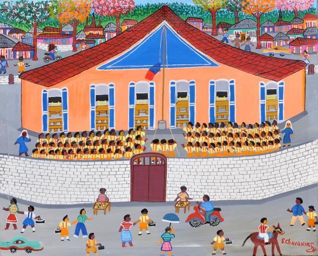 , 'La montée du Drapeau,' , Le Centre d'Art d'Haïti