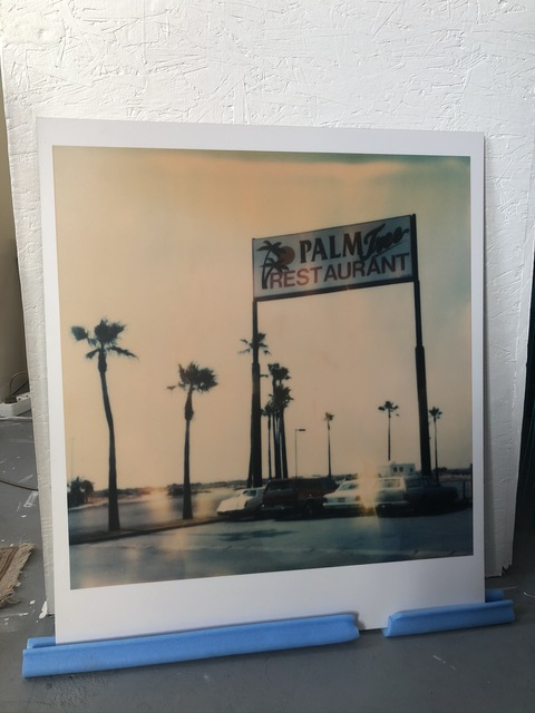 Stefanie Schneider, 'Palm Tree Restaurant (Stranger than Paradise)', 1999, Photography, Analog C-Print, hand-printed by the artist. Mounted on Aluminum  with matte UV-Protection, Instantdreams