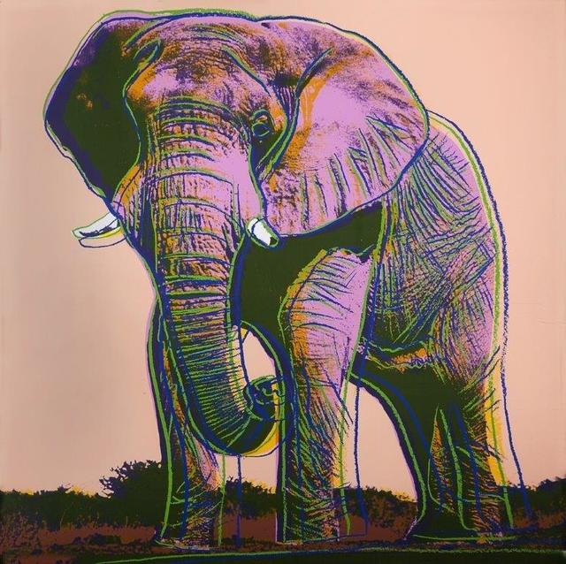 , 'African Elephant,' 1983, Galeries Bartoux Singapore