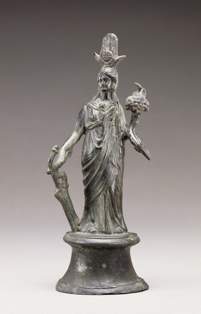 'Statuette of Isis-Fortuna',  2nd century, J. Paul Getty Museum