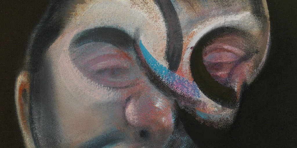 Bacon, Self-Portrait, 1972 (detail)