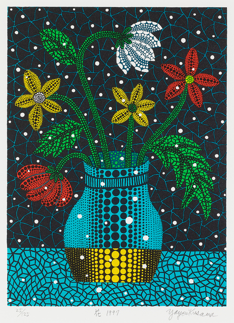 Yayoi Kusama, 'Flower', 1997, Shukado Gallery