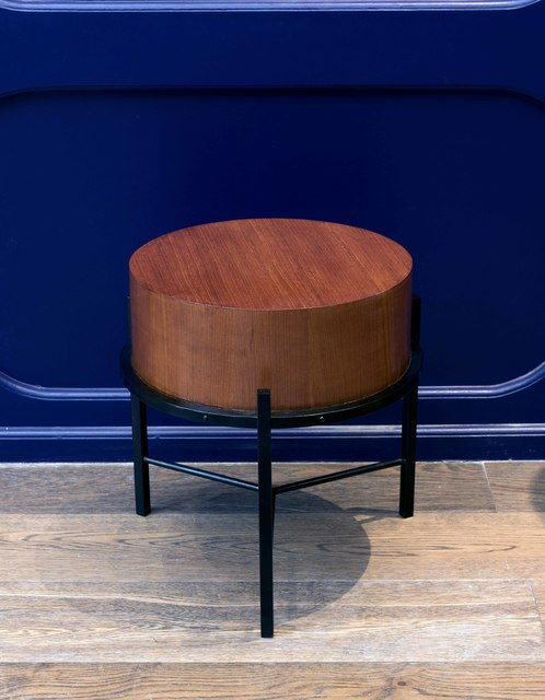 Franco Campo and Carlo Graffi, 'Side table', vers 1950, Design/Decorative Art, Wood and metal, Leclere