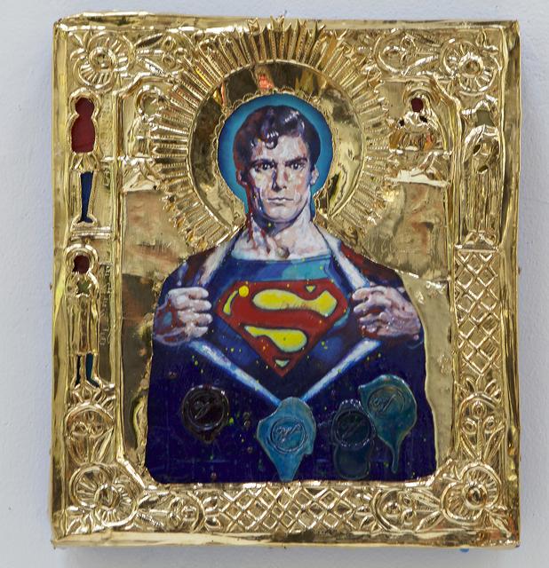 , 'St. Superman,' 2016, Robert Berman Gallery