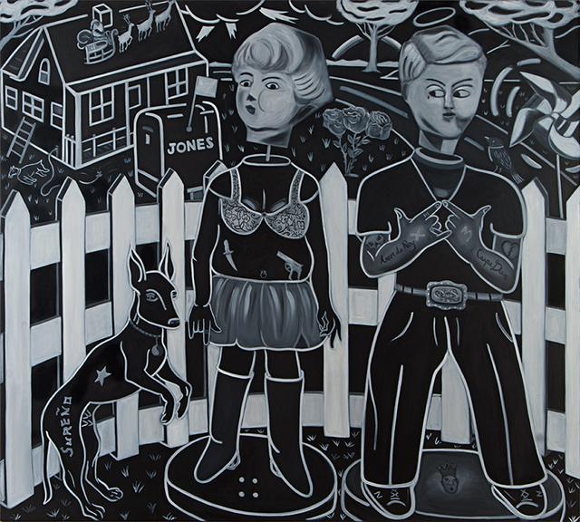 , 'Neighboors,' , Galería Nudo