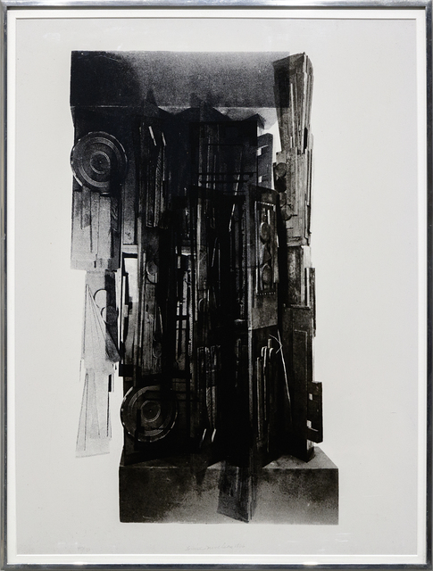 Louise Nevelson, 'Façade Suite', 1966, Heather James Fine Art