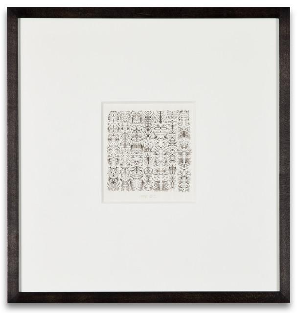 , 'INKBLOT DRAWING,' 1995, Kohn Gallery