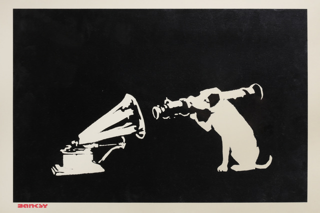 Banksy, 'HMV', 2003, Chiswick Auctions