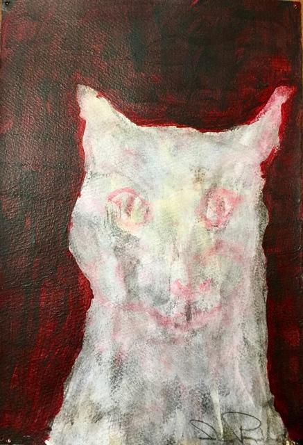 , 'Ghost Cat,' 2017, LeMieux Galleries