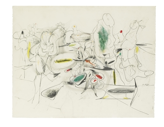 Arshile Gorky, 'Study for Good Afternoon, Mrs. Lincoln', Christie's