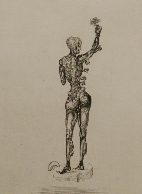Salvador Dalí, 'Les Chants de Maldoror (Figure)', 1934, Print, Etching, Fine Art Acquisitions Dali