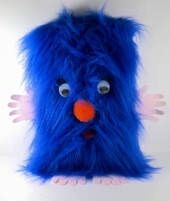 Mike Kelley, 'Little Friend', 2007, Other, Plush toy with plastic eyes, felt hands and feet; paper, sound box, Contemporary Art and Editions