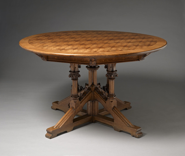, 'Circular table,' English or German-third quarter of the nineteenth century, H. Blairman & Sons Ltd