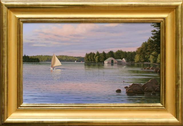 , 'On Lake Winnipesaukee,' 2018, The Guild of Boston Artists