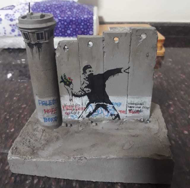 Banksy, 'Walled Off Hotel Wall Section',  , Marcel Katz Art