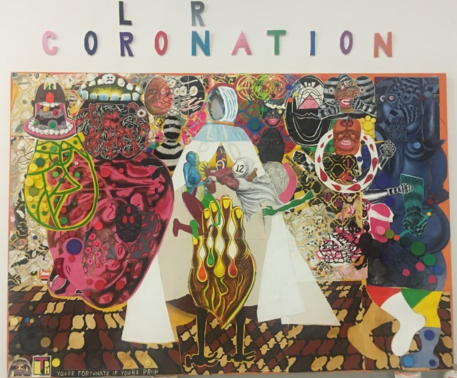 , 'Coloration Coronation,' 2016, James Cohan