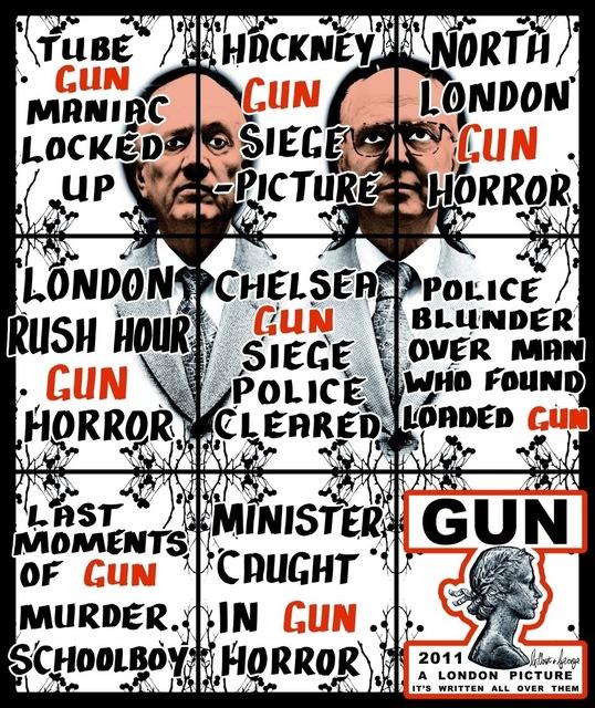 , 'Gun,' 2011, Bernier/Eliades