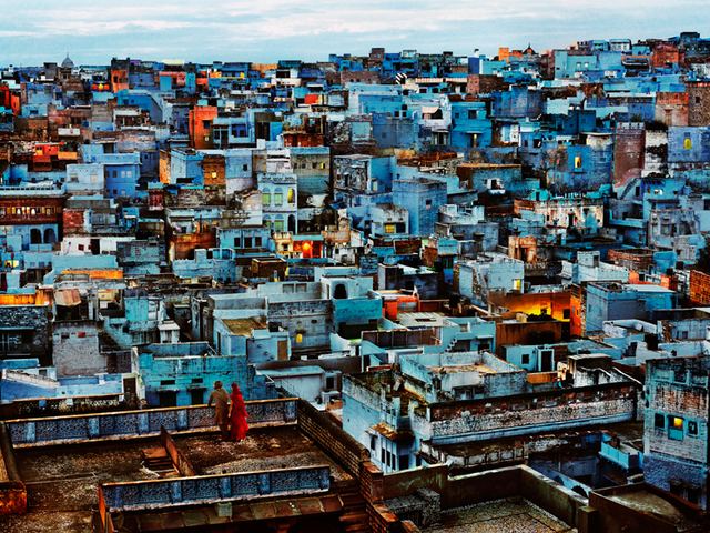 , 'Blue City, India,' 2010, Sundaram Tagore Gallery