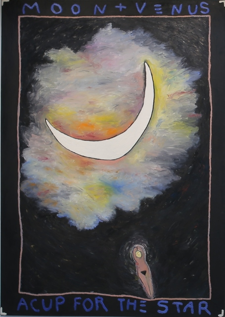 , 'Moon + Venus/A Cup for the Star,' 1982, di Rosa