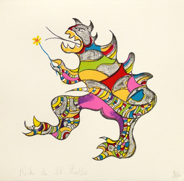 , 'Dragon/Monster,' 1996, Nohra Haime Gallery