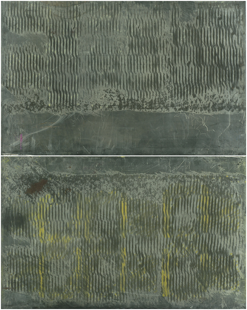 , 'Untitled (two panels),' late 1990s or early 2000s, Resource Art