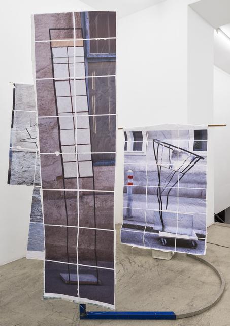 , 'hier möchte ich gerne Pferderennen etablieren (Kopie),' 2016, Gabriele Senn Galerie