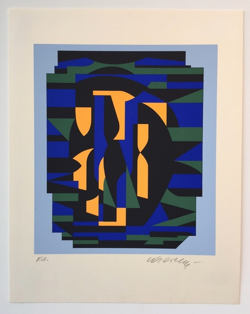 Victor Vasarely, 'Risir, from Ion Album', 1989, Gregg Shienbaum Fine Art