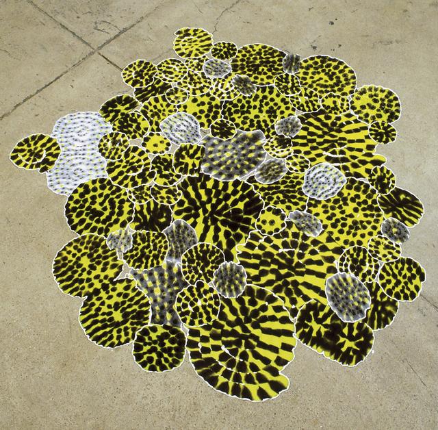 Polly Apfelbaum, 'Snails: Watch your step, Irving Berlin', 1999, Galerie nächst St. Stephan Rosemarie Schwarzwälder
