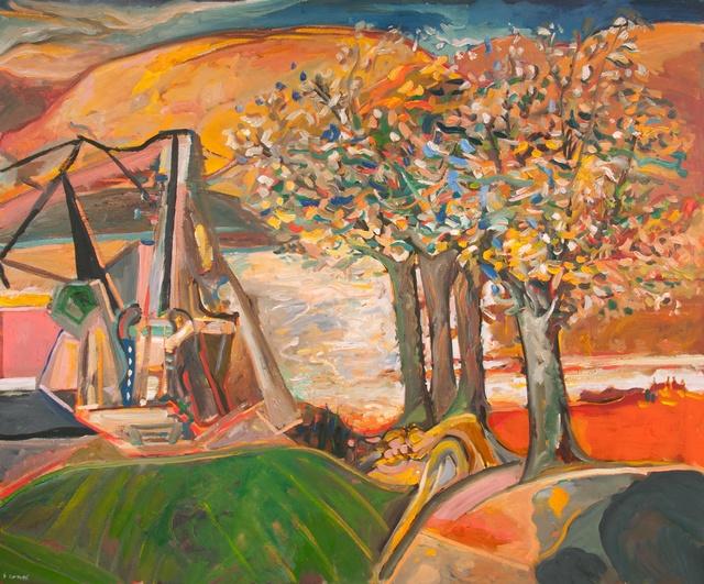 , 'Across The River,' 2017, Gallery Jones
