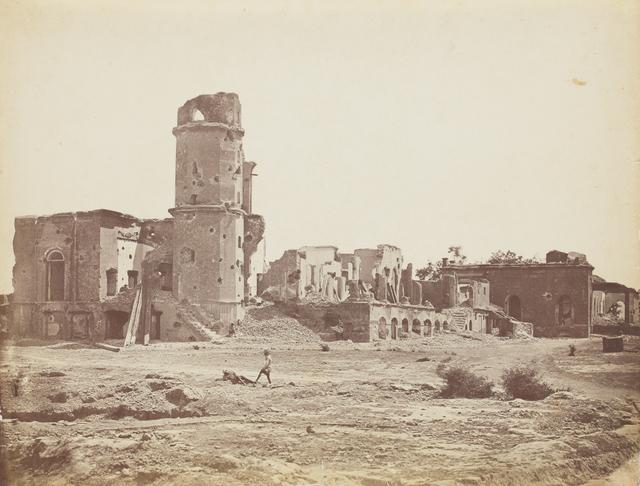 , 'Residency, Lucknow,' 1858, Sarmaya
