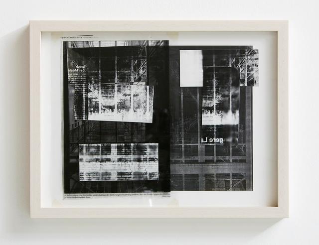 , 'In dubio contra,' 2011, Galerie Reinhold Maas