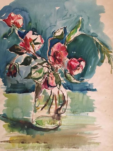 Katherine Librowicz, 'Bouquet of Roses', 20th Century, Lions Gallery
