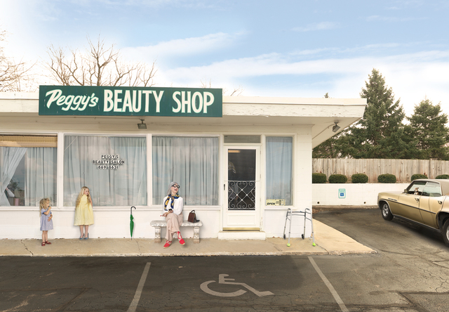 Julie Blackmon, 'Peggy's Beauty Shop', 2015, G. Gibson Gallery