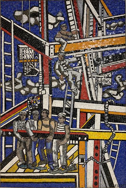 , 'Les Constructeurs (état définitif),' 1950, Galerie Thomas