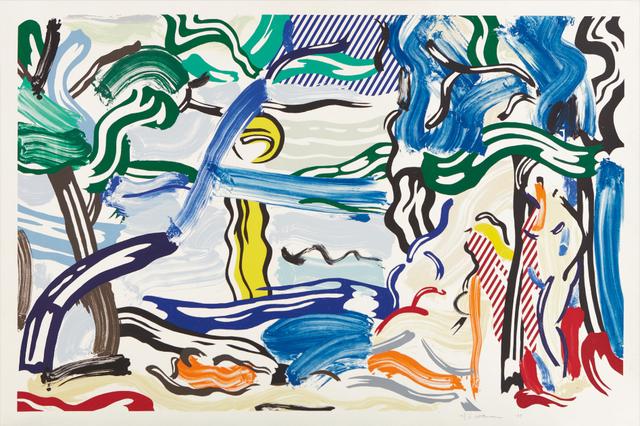 Roy Lichtenstein, 'Moonscape', 1985, Upsilon Gallery