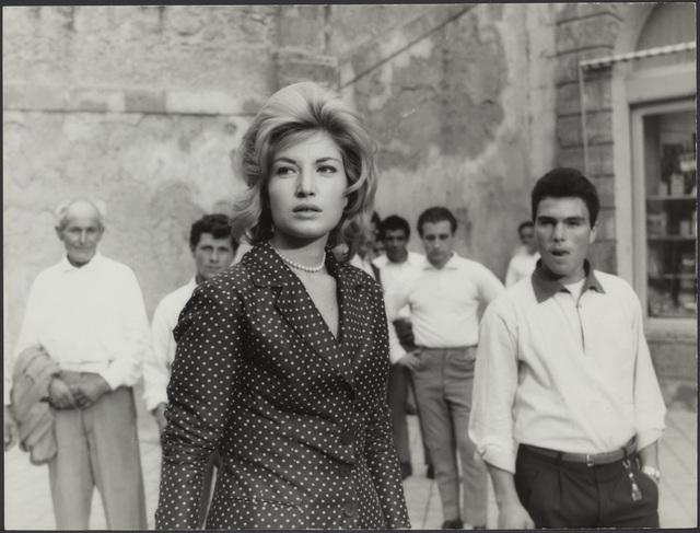 , 'L'avventura (film still with Monica Vitti),' 1960, EYE Film Institute Netherlands