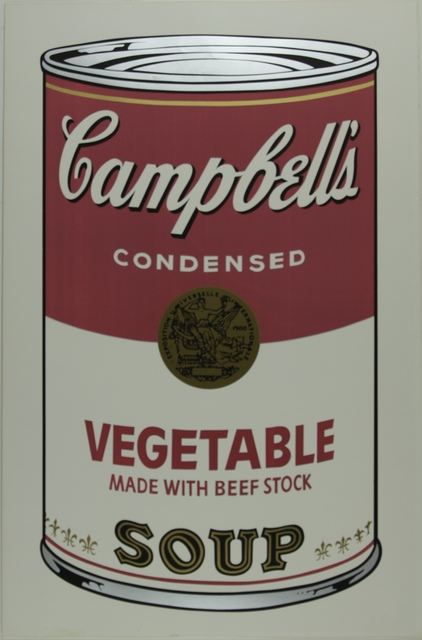 Andy Warhol, 'Campbell's Soup I, Vegetable F&S II.48', 1968, Fine Art Mia