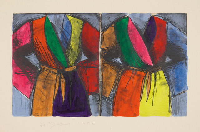 Jim Dine, 'Jumps Out at You, No?', 1993, Upsilon Gallery