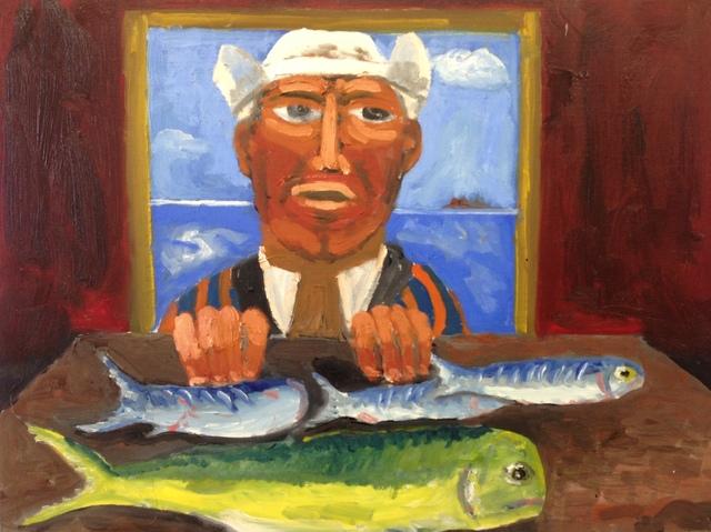 , 'Fish for Sale,' 2012, Paraphé