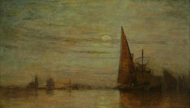 William Gedney Bunce, 'Nocturne, Venice', ca. 1890, Private Collection, NY