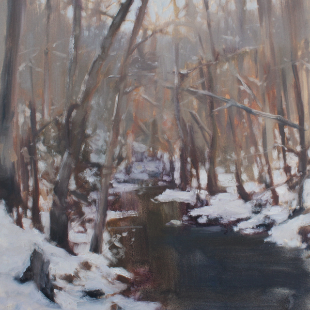 , 'Beaman Park Field Study (Winter),' 2017, Zeitgeist
