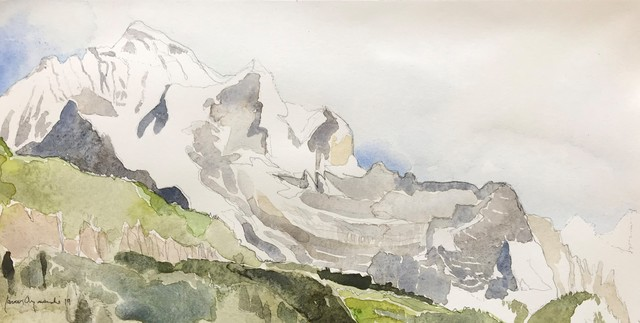 , 'Jungfrau, Switzerland,' 2019, Andra Norris Gallery
