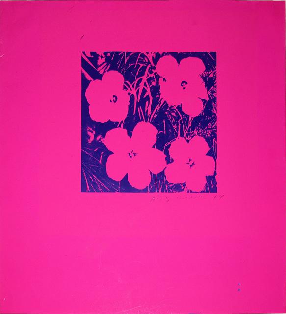 , 'Flowers,' 1964, Hamilton-Selway Fine Art