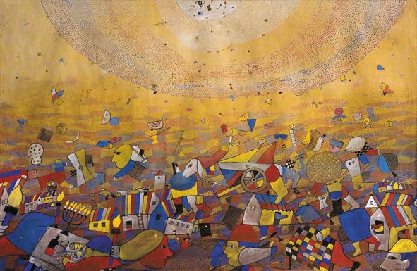 , 'La creación,' 1968, Museo Gurvich